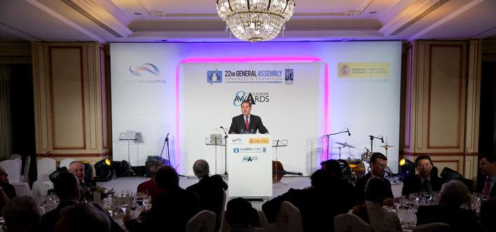 ACI Europe Cena de Gala - Entrega de Premios_Madrid