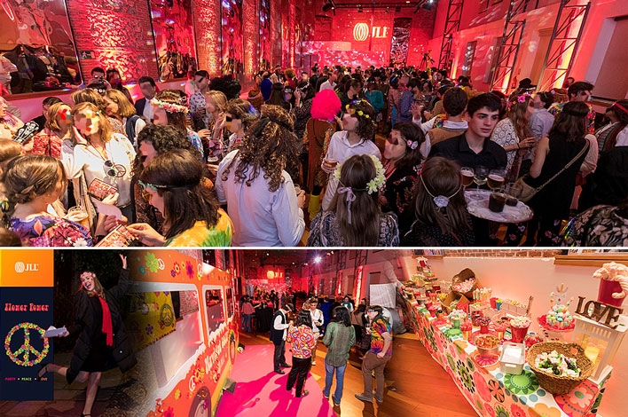Evento Corporativo en Madrid- Agencia de Eventos GRUPO INK - Fiesta Navidad JLL Spain