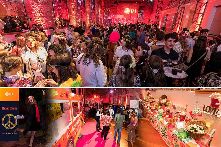 Evento Corporativo en Madrid- Agencia de Eventos GRUPO INK - Fiesta Navidad JLL Spain