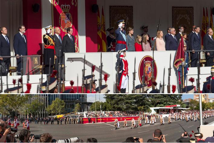 Desfile Fiesta Nacional de España - GRUPO INK Agencia de Eventos en Madrid