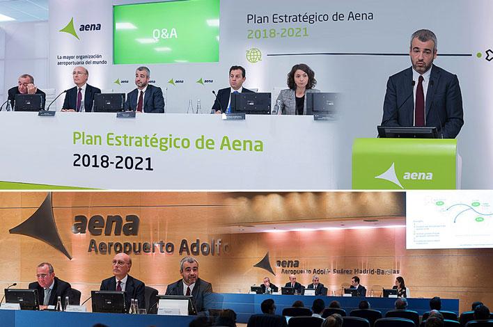 Agencia de Eventos en Madrid GRUPO INK - Presentación Plan Estratégico Aena