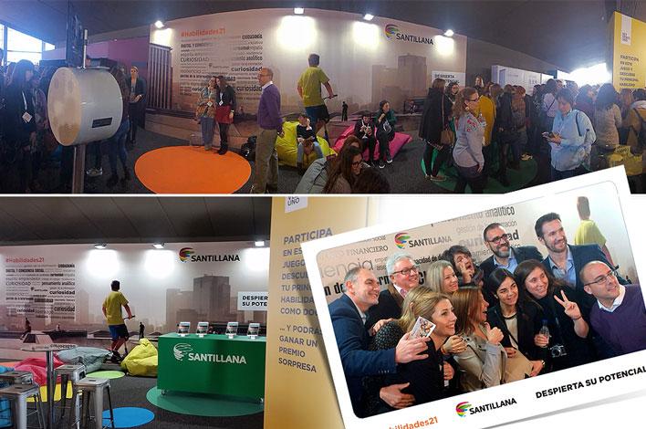 Agencia de Eventos en Madrid - Eventos en Kinepolis GRUPO INK - Santillana - Grandes Profes