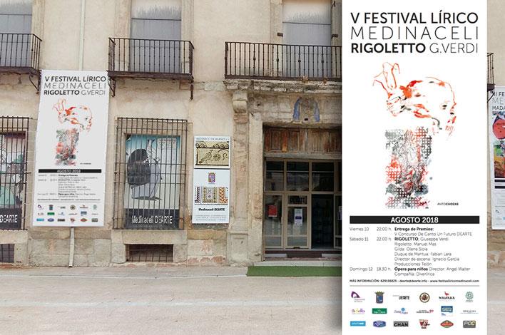 V Festival Lírico Medinaceli Rigoletto G.Verdi - GRUPO INK - Agencia de Eventos