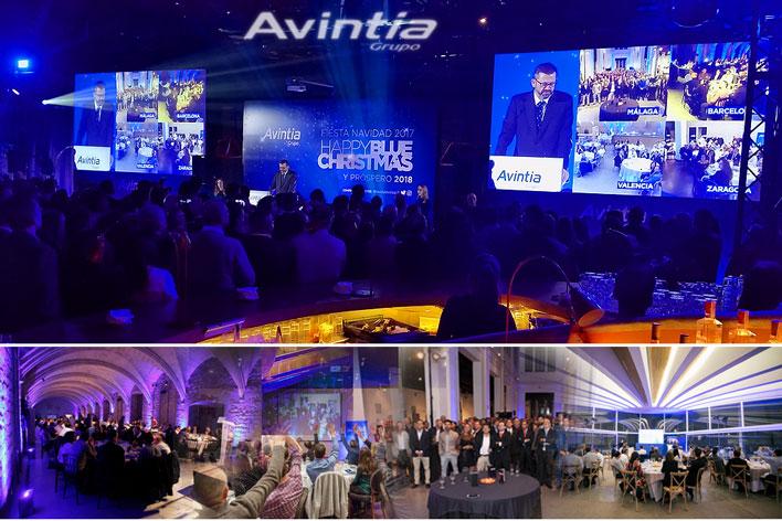 Evento interconexión de sedes - AVINTIA - GRUPO INK Agencia de Eventos
