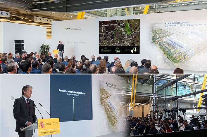 Agencia de Eventos GRUPO INK - Presentación Plan Inmobiliario AENA