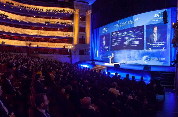 Agencia de Eventos en Teatro Real de Madrid - Yearly Meeting Management Solutions