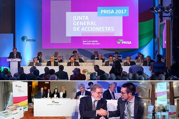 Junta General de Accionistas PRISA - Agencia de Eventos en Madrid GRUPO INK
