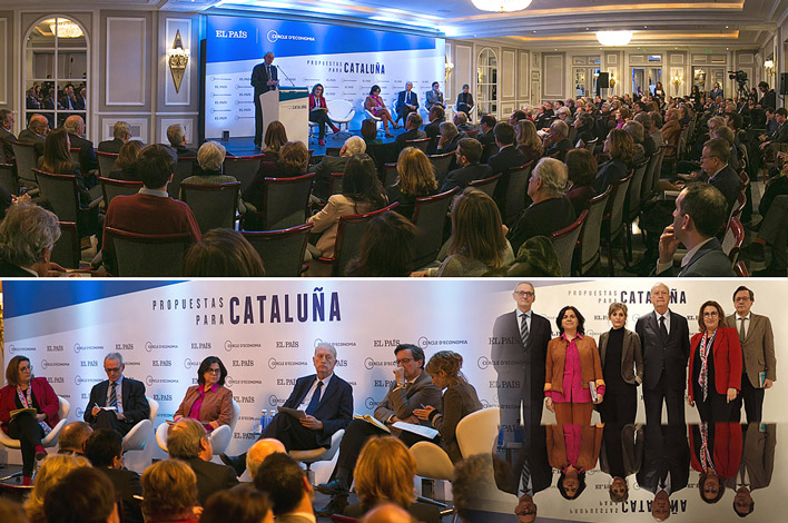 Agencia de Eventos en Madrid - Foro Propuestas para Cataluña - Cercle d'economia - EL PAÍS