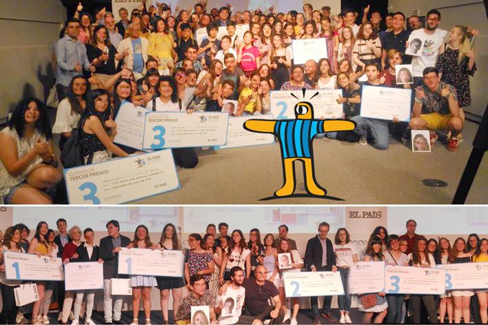 Entrega de Premios El País de los Estudiantes - Agencia de Eventos en Madrid - GRUPO INK