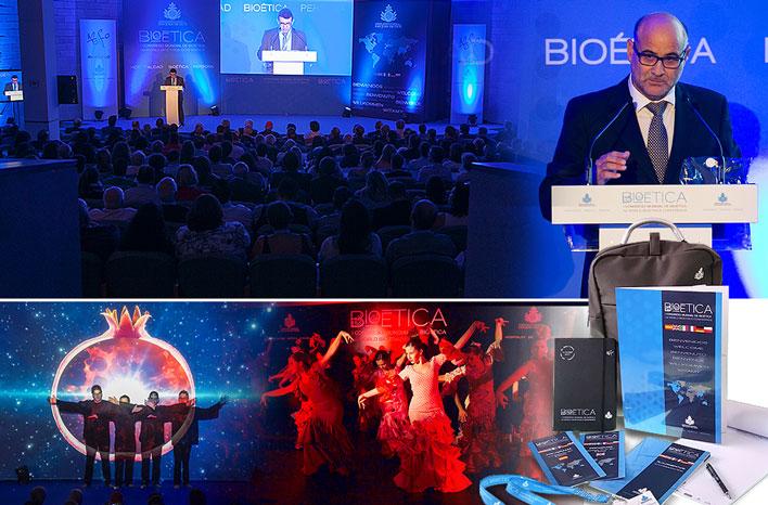 Congreso Mundial de Bioética - GRUPO INK Agencia de Eventos - El Escorial - Madrid