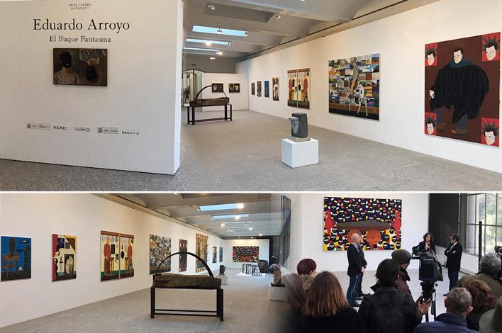 Diseño y Montaje de Exposiciones en Madrid - El Buque Fantasma de Eduardo Arroyo