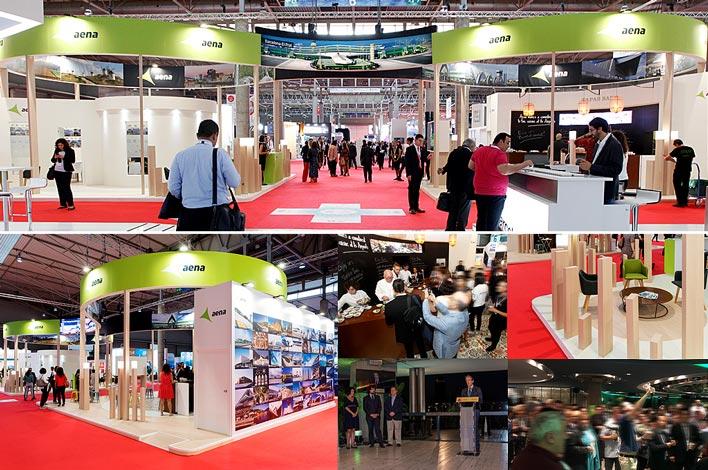 Empresa de Diseño y Montaje de Stands Feriales - World Routes Barcelona - AENA