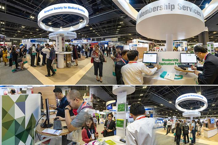 Congreso Internacional de Oncología ESMO - Singapur, Asia - Agencia de Eventos GRUPO INK