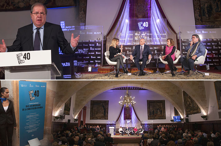 Evento, Debate, Universidad Salamanca - 40 Aniversario de la Constitución Española - GRUPO INK Agencia de Eventos