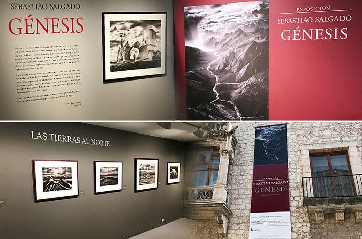 Exposición Sebastián Salgado_Génesis - GRUPO INK Montaje de Exposiciones