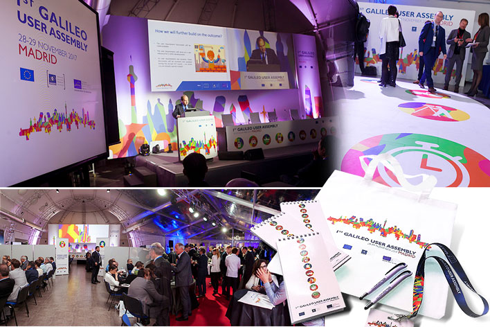 Galileo User Assembly GRUPO INK - Event Organisation - EventsProf - Madrid, Spain