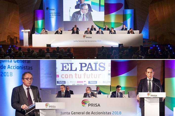 Junta General de Accionistas PRISA - Agencia de Eventos GRUPO INK