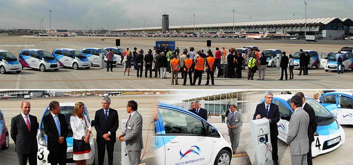 Presentación coches eléctricos (Madrid, Barcelona, Lanzarote)