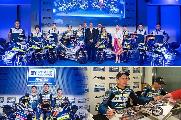 Presentación Equipo MotoGP Reale Avintia Racing - GRUPO INK Agencia de Eventos