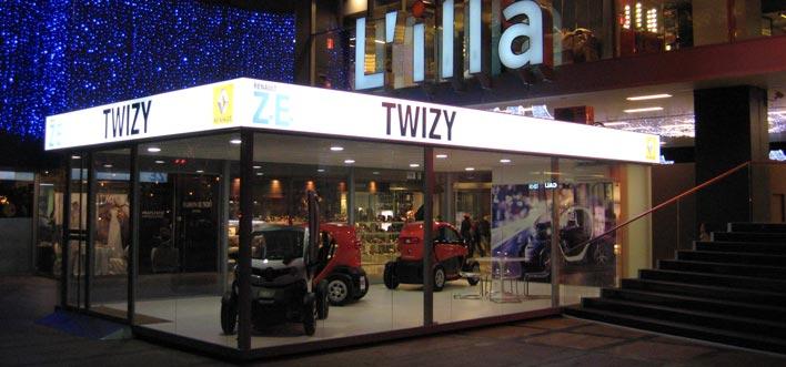 Punto de Exposición y Venta Twizy