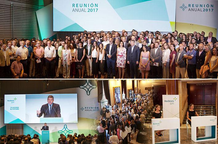 Reunión de Empleados Madrid Redexis Gas - Agencia de Eventos GRUPO INK