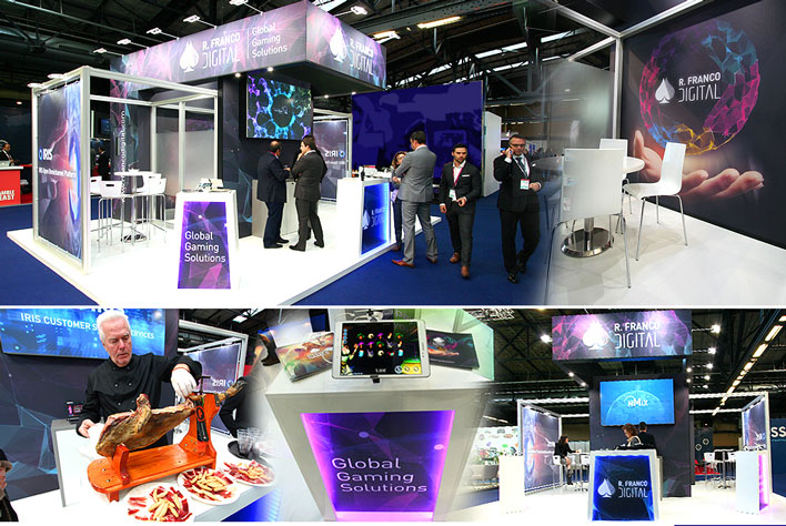 EIG Leading Gaming Industry Event Berlin- GRUPO INK Trade Shows, Stand