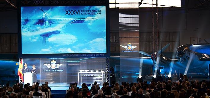 XXXVI edición Premios Ejército del Aire – 75 aniversario